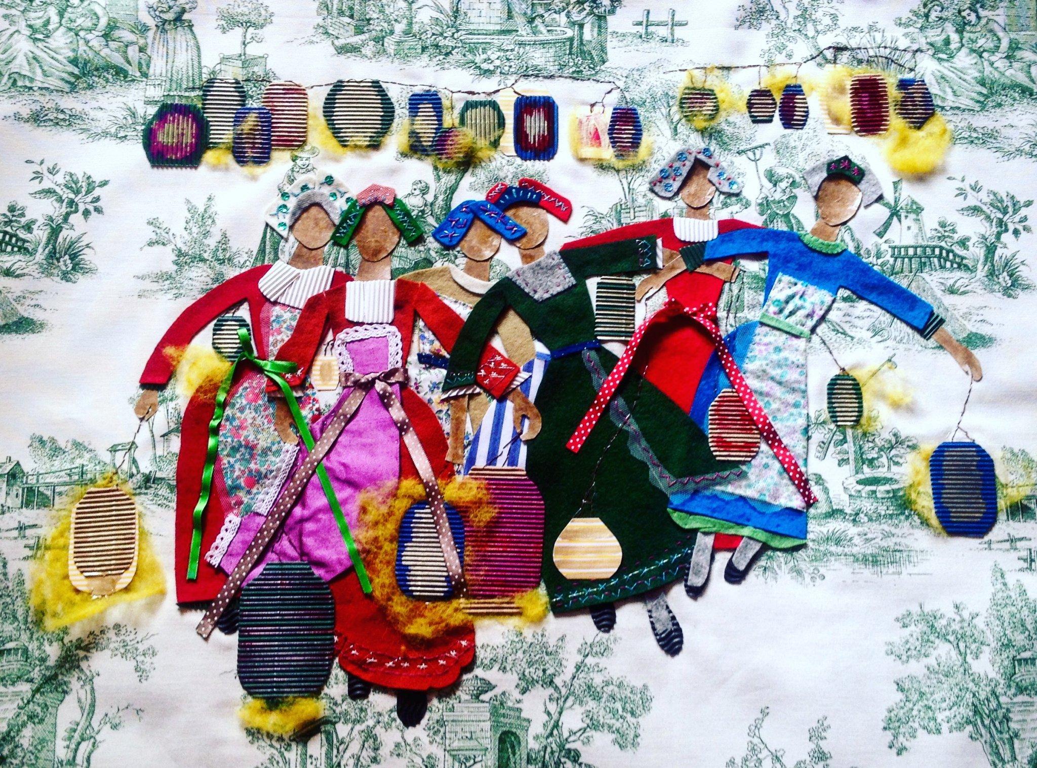 Chicas y farolillos (2017) - Ruth María Álvarez Carrasco - Baby Ruth