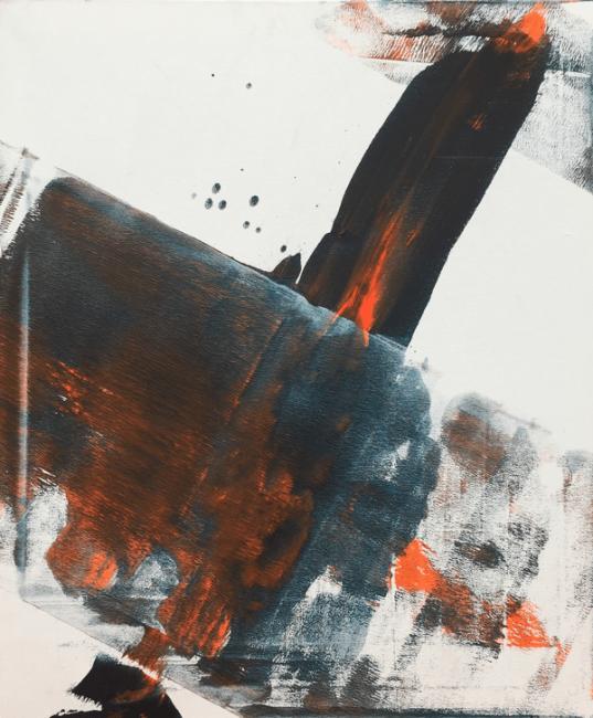 Rush, 2015. 40x60 cm. Acrílico sobre lienzo
