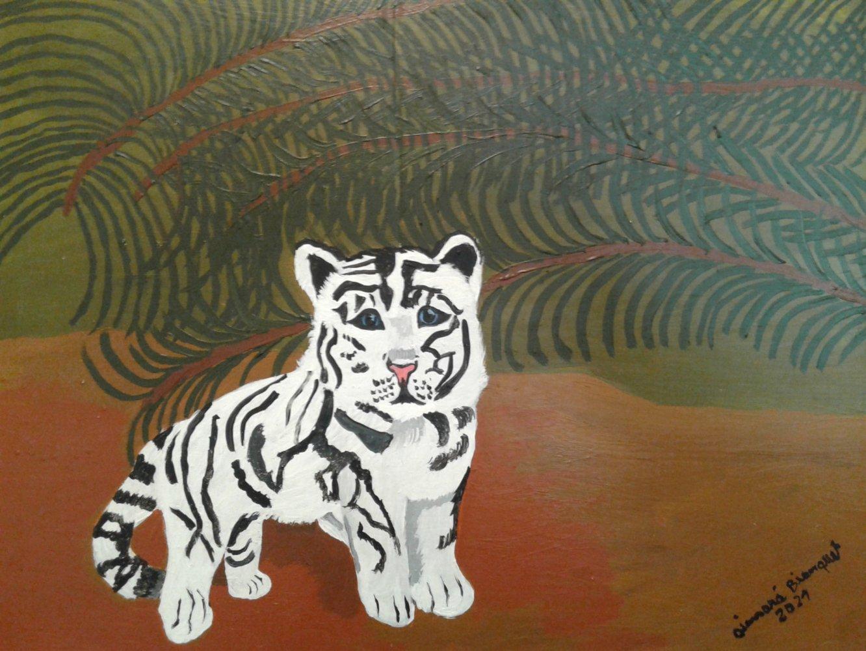 Tigrecito blanco (2021) - Aimará Bianquet