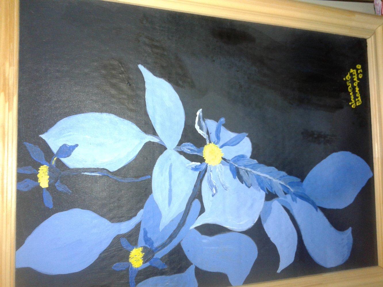 Flores azules en la oscuridad (2020) - Aimará Bianquet