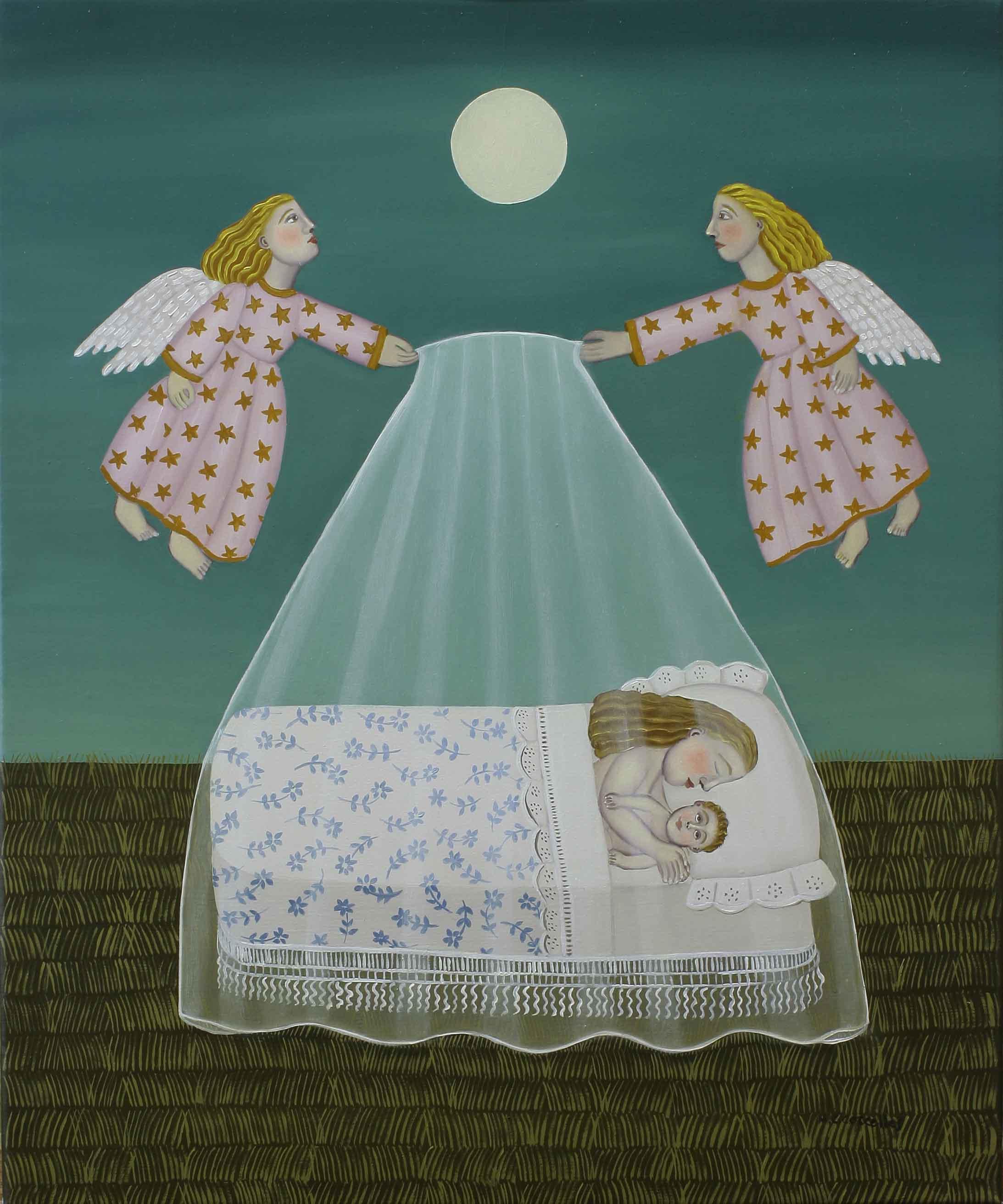 Ángeles del sueño (2014) - Carmen Corcelles