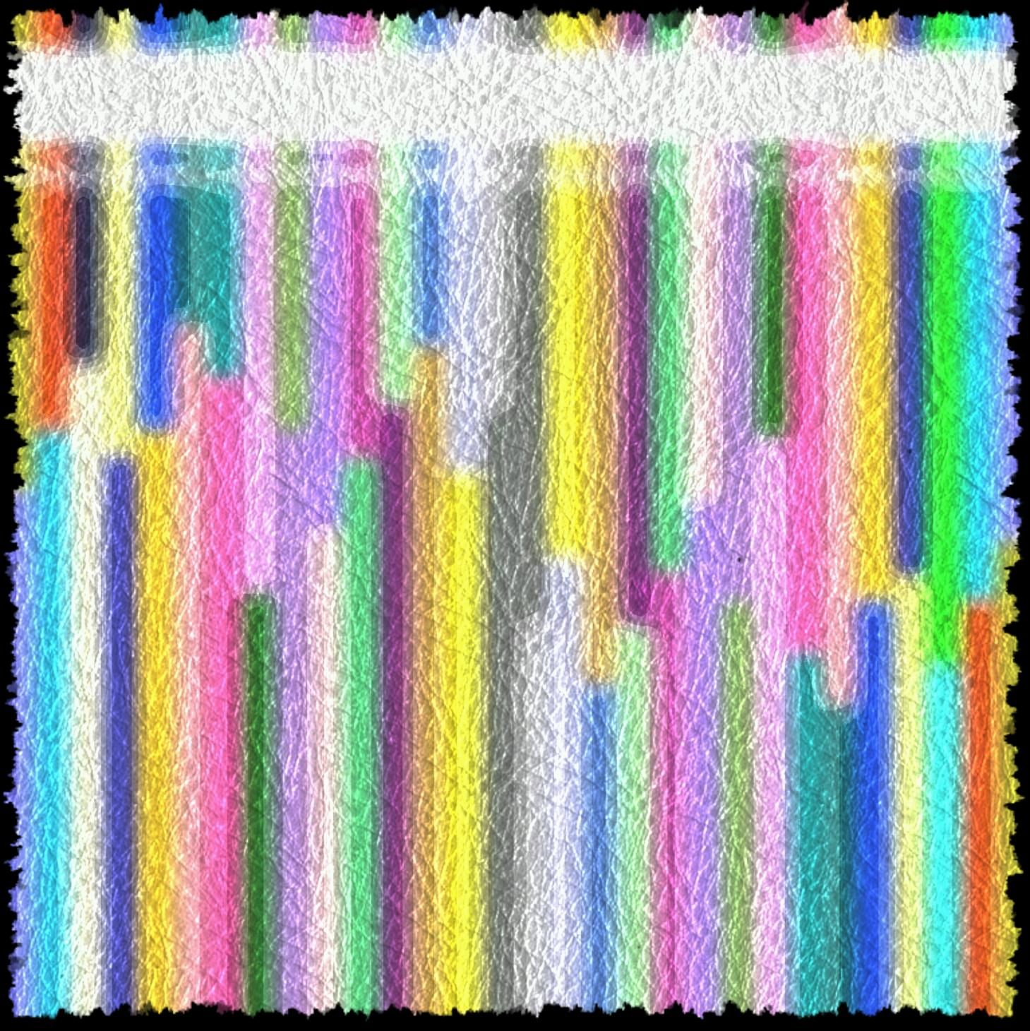 Cristalera de colores. Abstracción (2014) - Fernando Salmon Iza