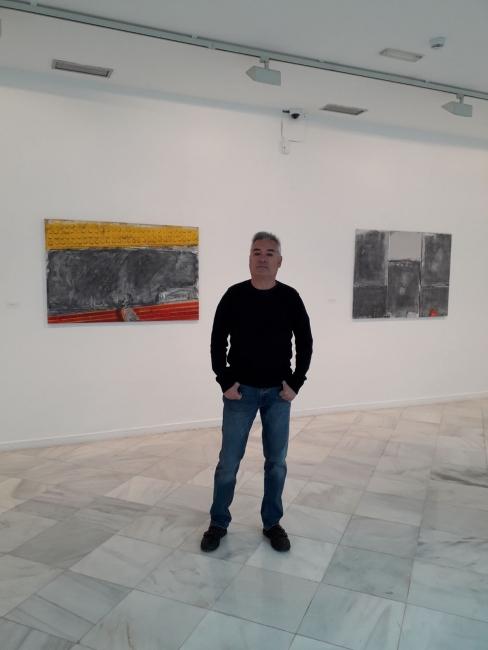 En la exposición de Julio Juste