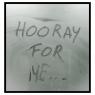 """Hooray for me..."" (Serie ""Self-Portraits"")."