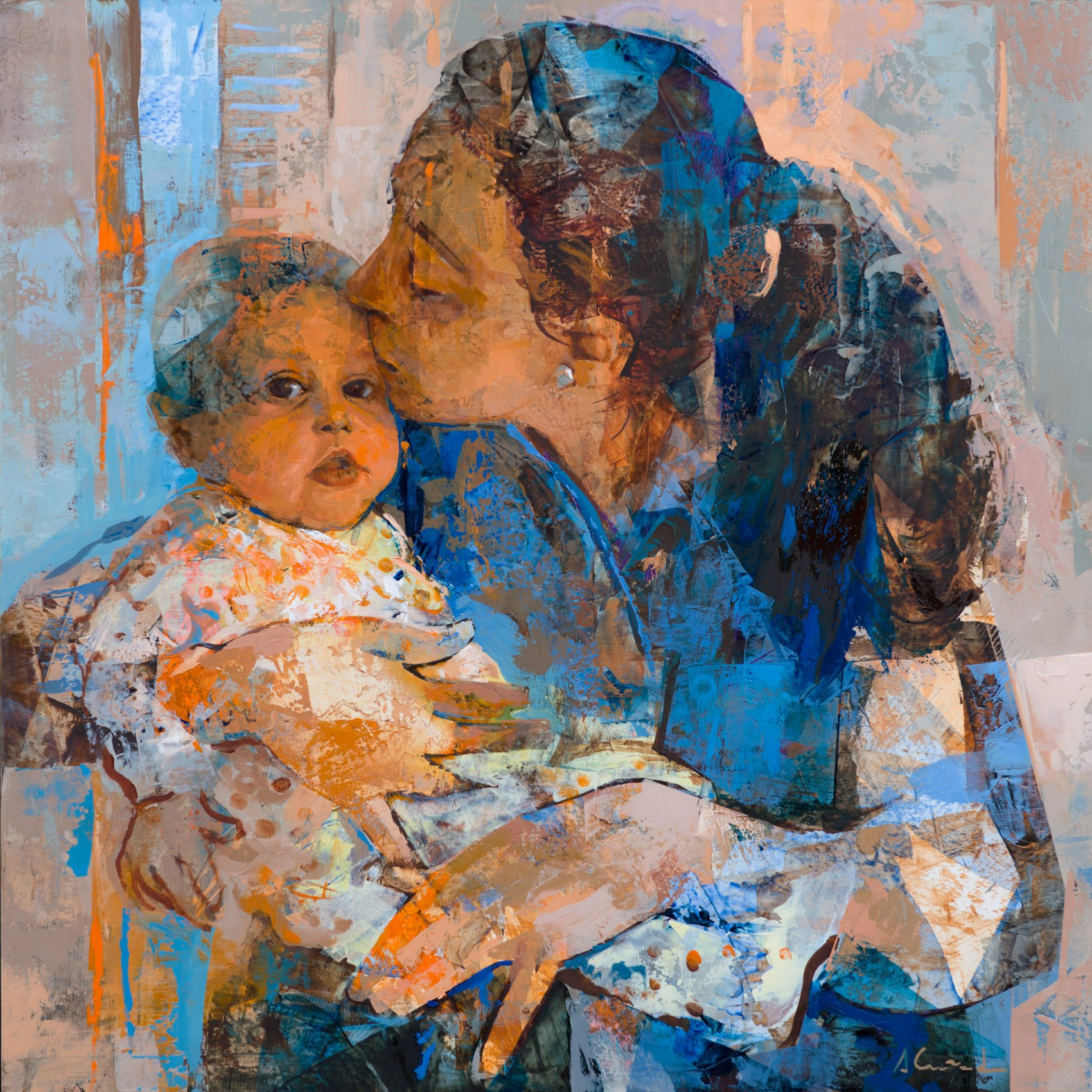 Madre e hijo