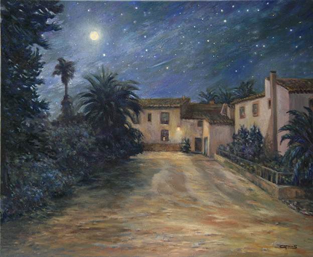 0217 - Noche con Luna Llena - Los Rasmaos, Esparragal de Pto. Lumbreras (MU) (2012) - Antonio Caparrós García