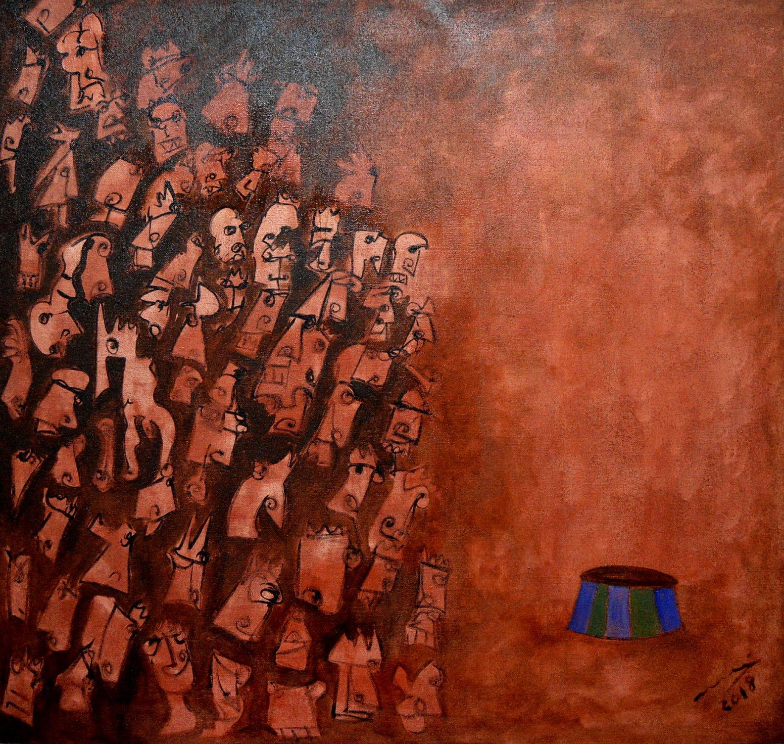 Human circus, silencio (2018) - Juan Manuel Álvarez Romero - Mané