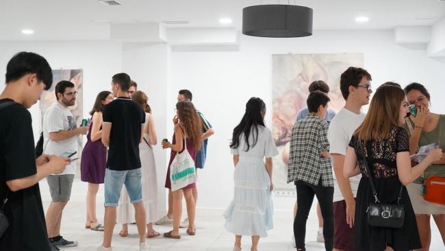 """Exposición """"Líneas del alma"""""""