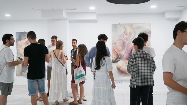 """Exposición """"Líneas del alma"""" de Yuqin Feng"""