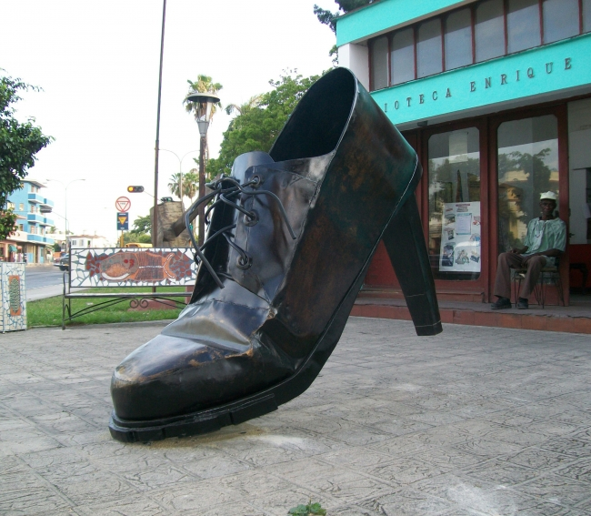 Meter el pie