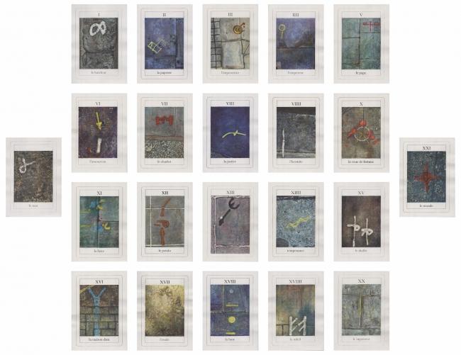 Anarca, ed. 2, grupo de 22 obras su papiel