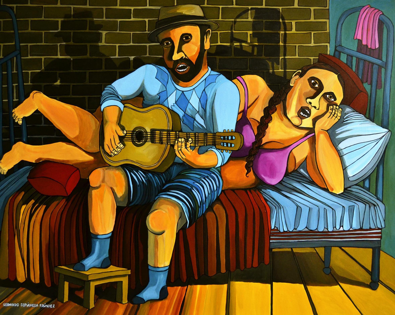 Otra cosa es con guitarra... (2014) - Leonardo Sepulveda