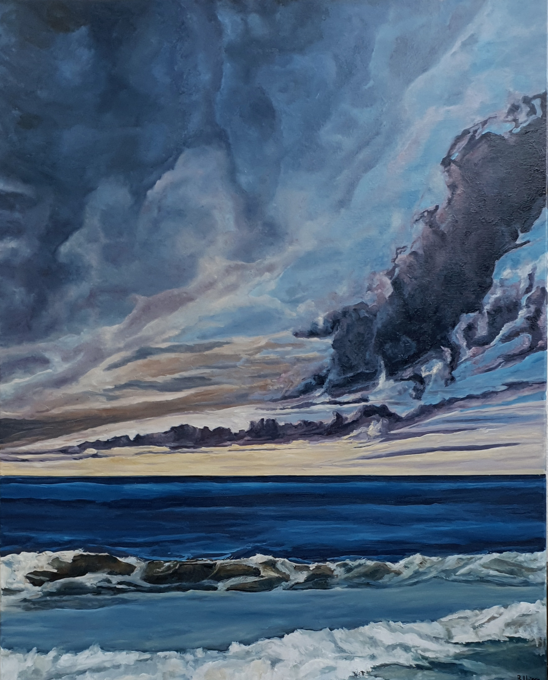 Algo de mar y mucho de cielo (2019) - Fuensanta Ruiz Urien - Fuensanta R.Urien