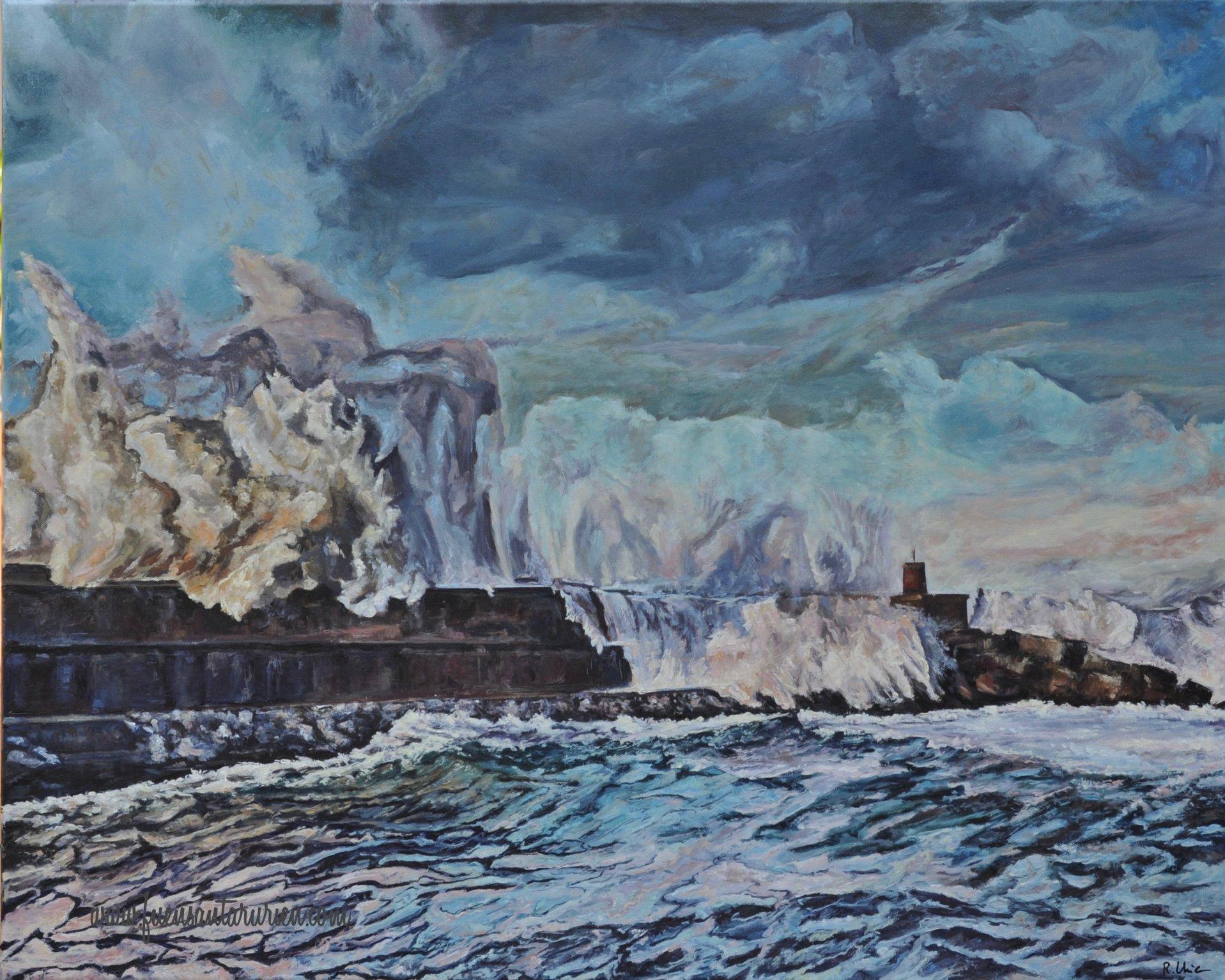 El mar no solo es azul (2018) - Fuensanta Ruiz Urien - Fuensanta R.Urien