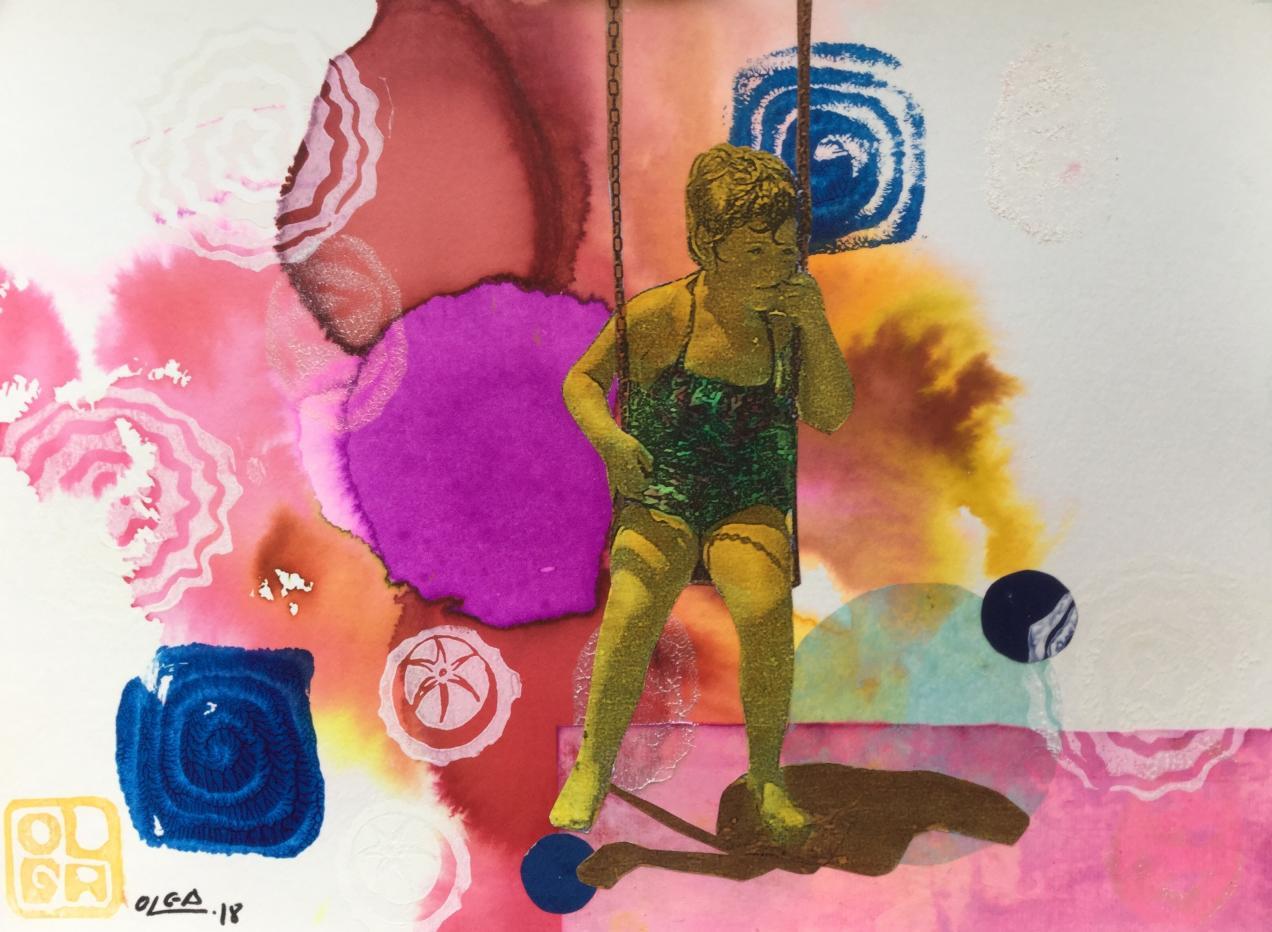 1964. Soñando en el columpio (2018) - Olga Moreno Maza