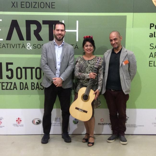 Los directores de la Bienal de Florencia