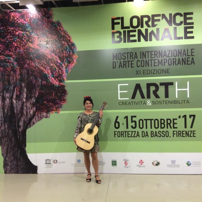 Concierto de apertura en la Bienal de Florencia 2017
