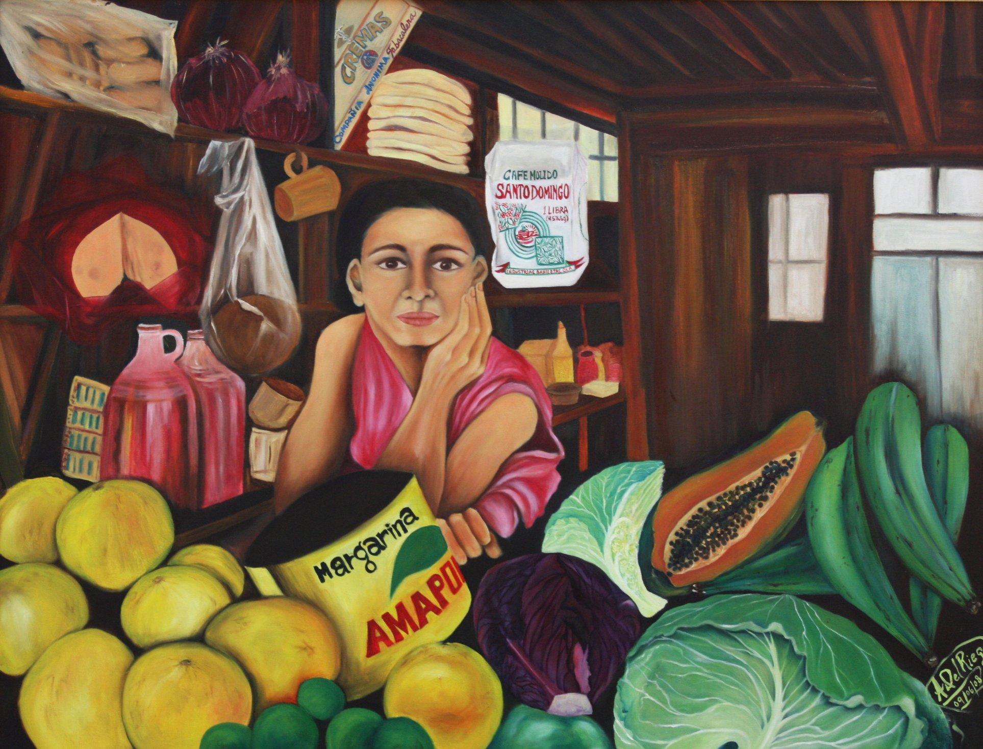 In the Market (La Marchanta en el Mercado) (2008) - Angie Del Riego