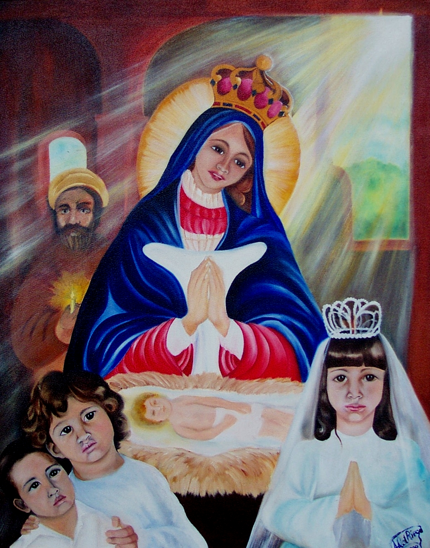 """""""Como Eramos"""" (El estigma de la Virgen de la Altagracia)"""