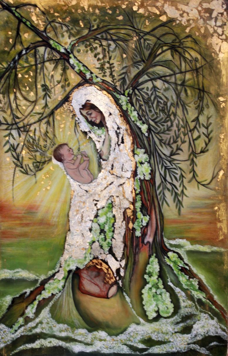 """""""La Virgen de los Olivos"""""""