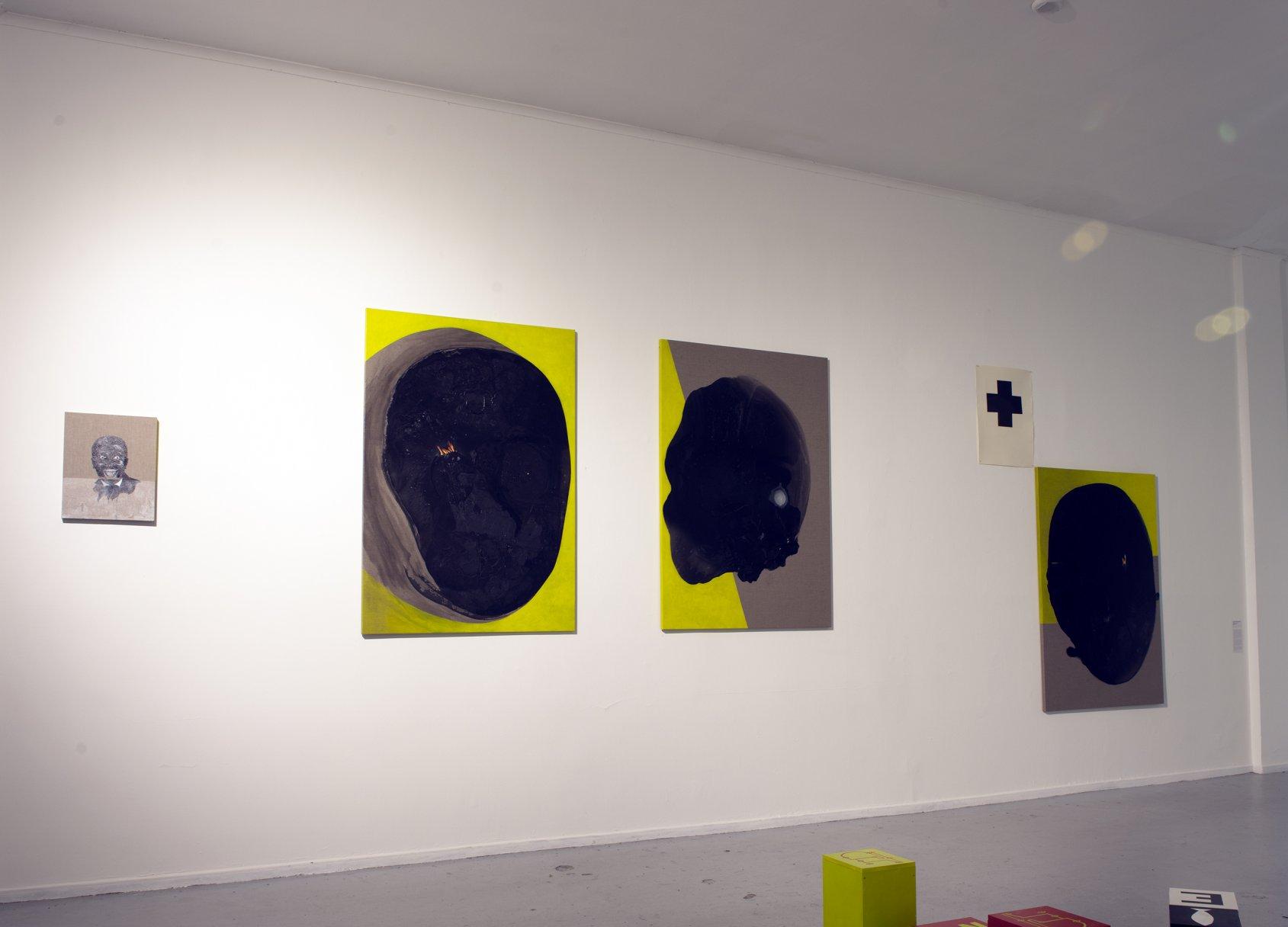 Proyecto CL Border Control (The Black Face) (2018) - Ricardo Fuentealba-Fabio