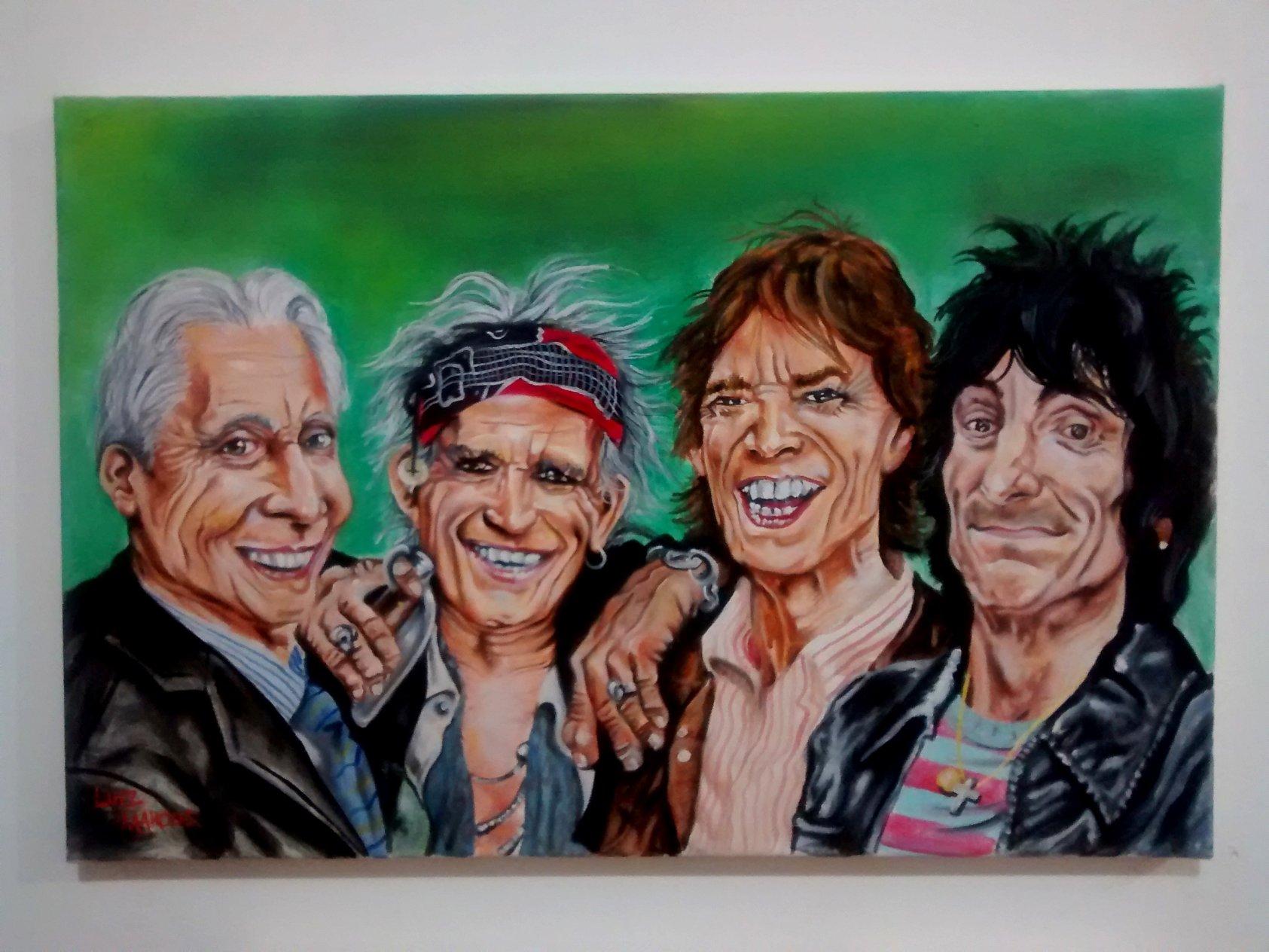 Los Rollings Stones (2016) - Luiz Marcos