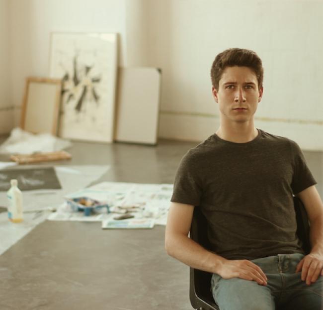 Roger Vilà en su estudio