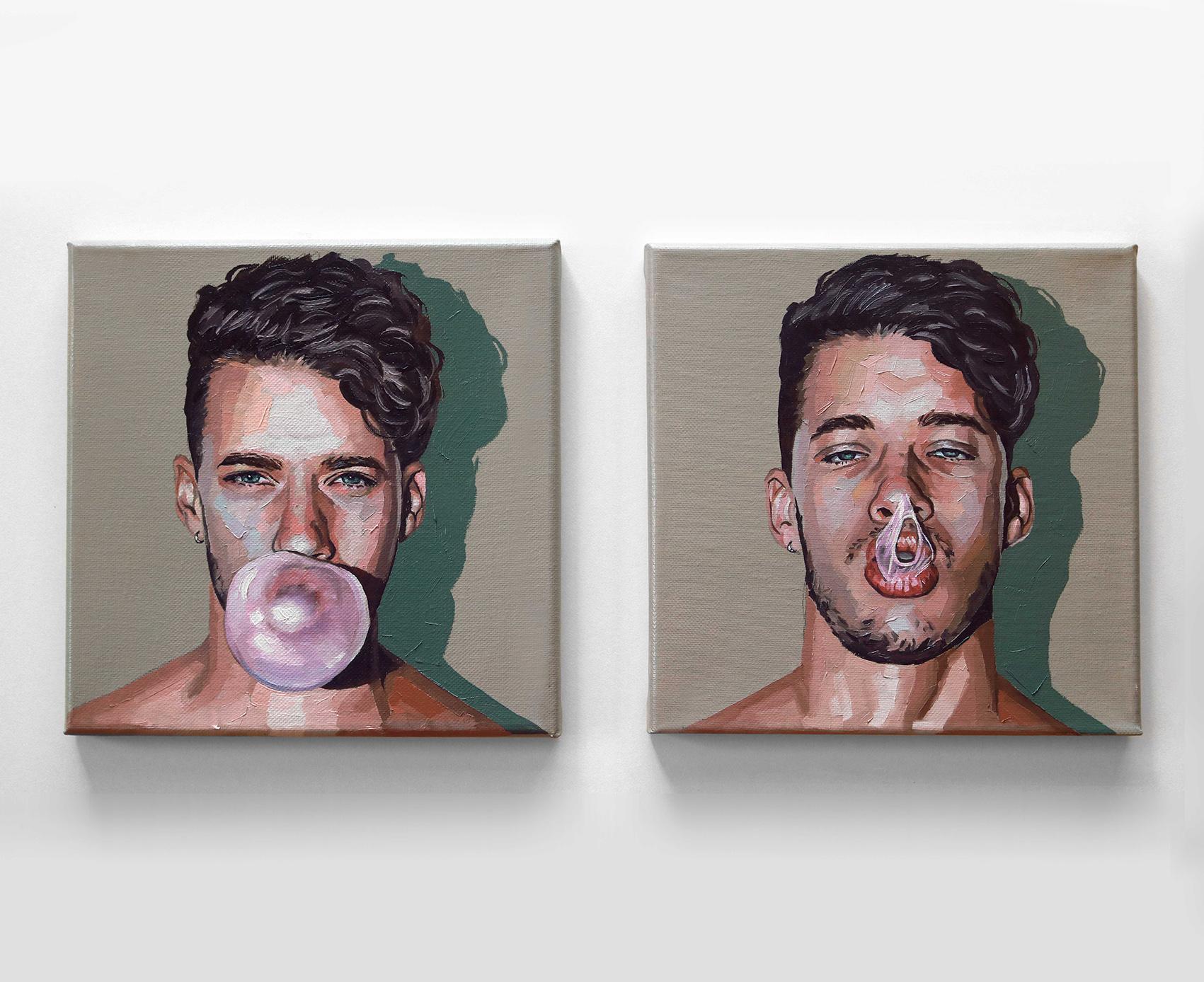Bubble Gum (Diptico) (2020) - Daniel Jaen