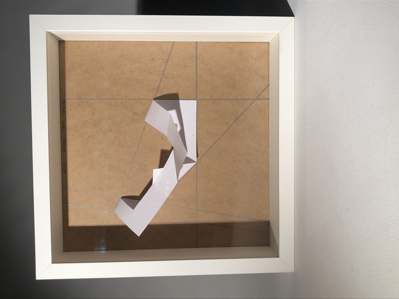 Estructura de fuerte expresión.... EMBRION de arte (2019) - Tomas Díaz Magro