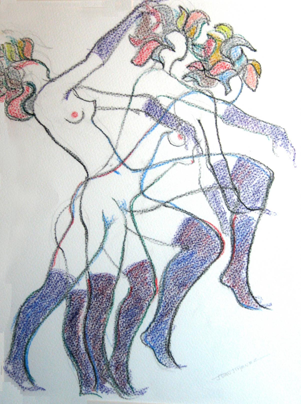 Desnudos 4 (2009) - Juan Jiménez