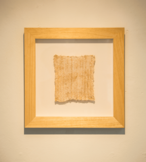 De la serie textum reductio, 2013  30 x 30 cm. Cortesía de Iván Marcos Perera Grueiro