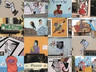 Rogelio López Cuenca. Casi todo de Picasso, 2011. En la ciudad genial. Taller con Rogelio López Cuenca y Elo Vega. Cortesía del Museo Reina Sofía