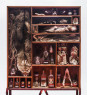 Proyecto de amarres Latinoamericanos, 2020 / Técnica mixta, taxidermia y objetos / 80 x 70 x 10 cm