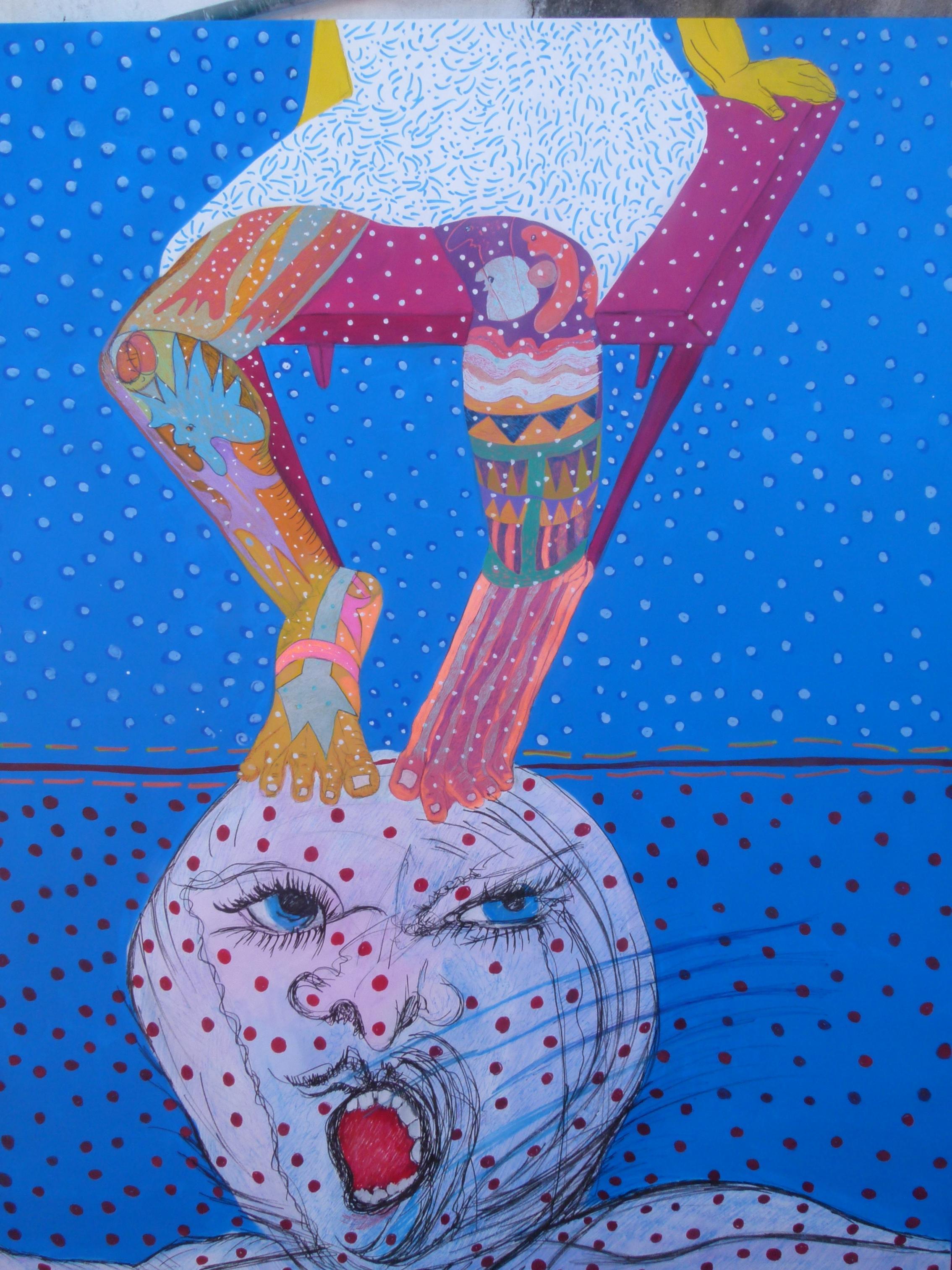 pensamientos pisoteados (2015) - Cristina Minacori