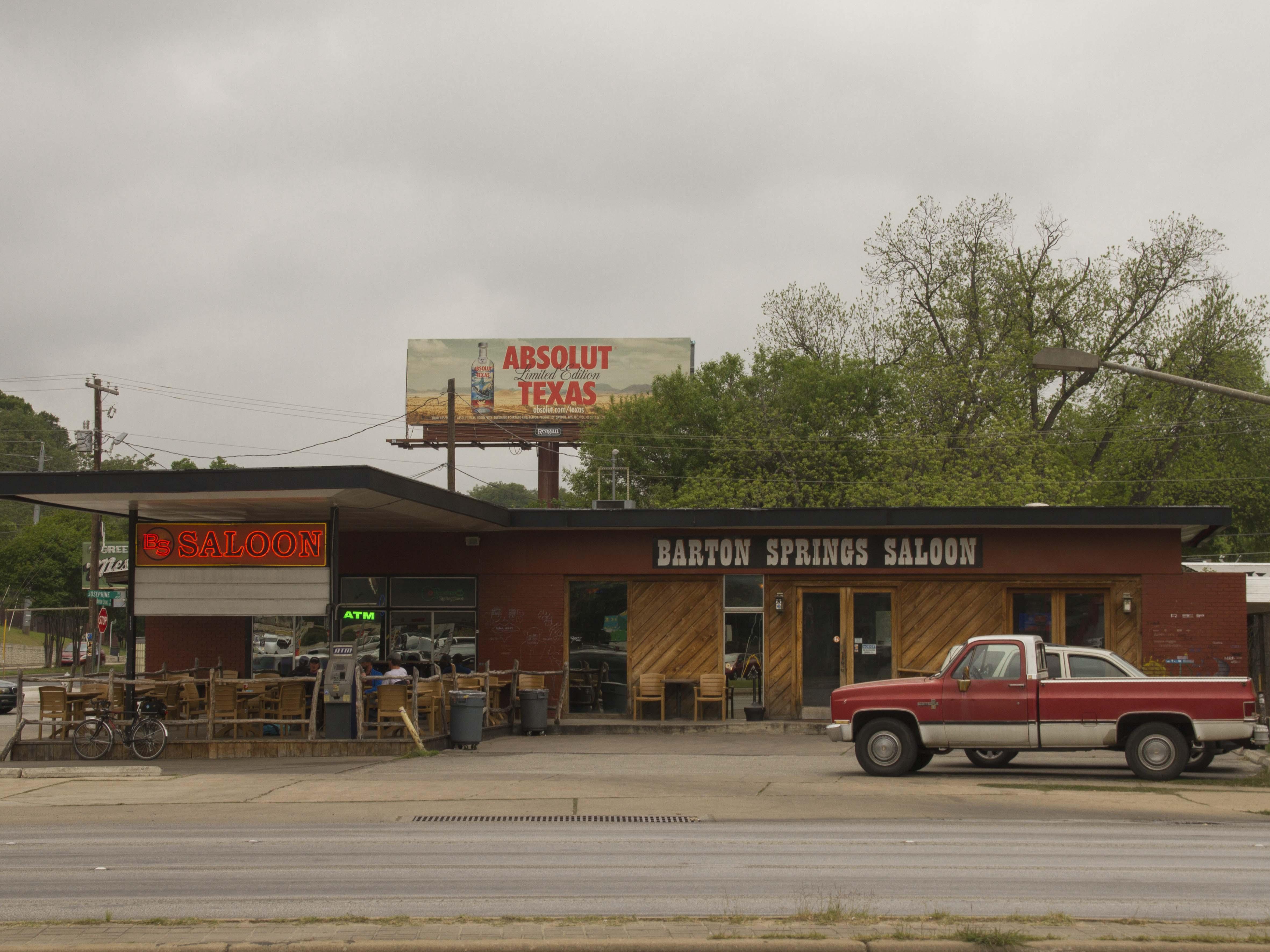 Saloon en South Lamar, Austin, TX