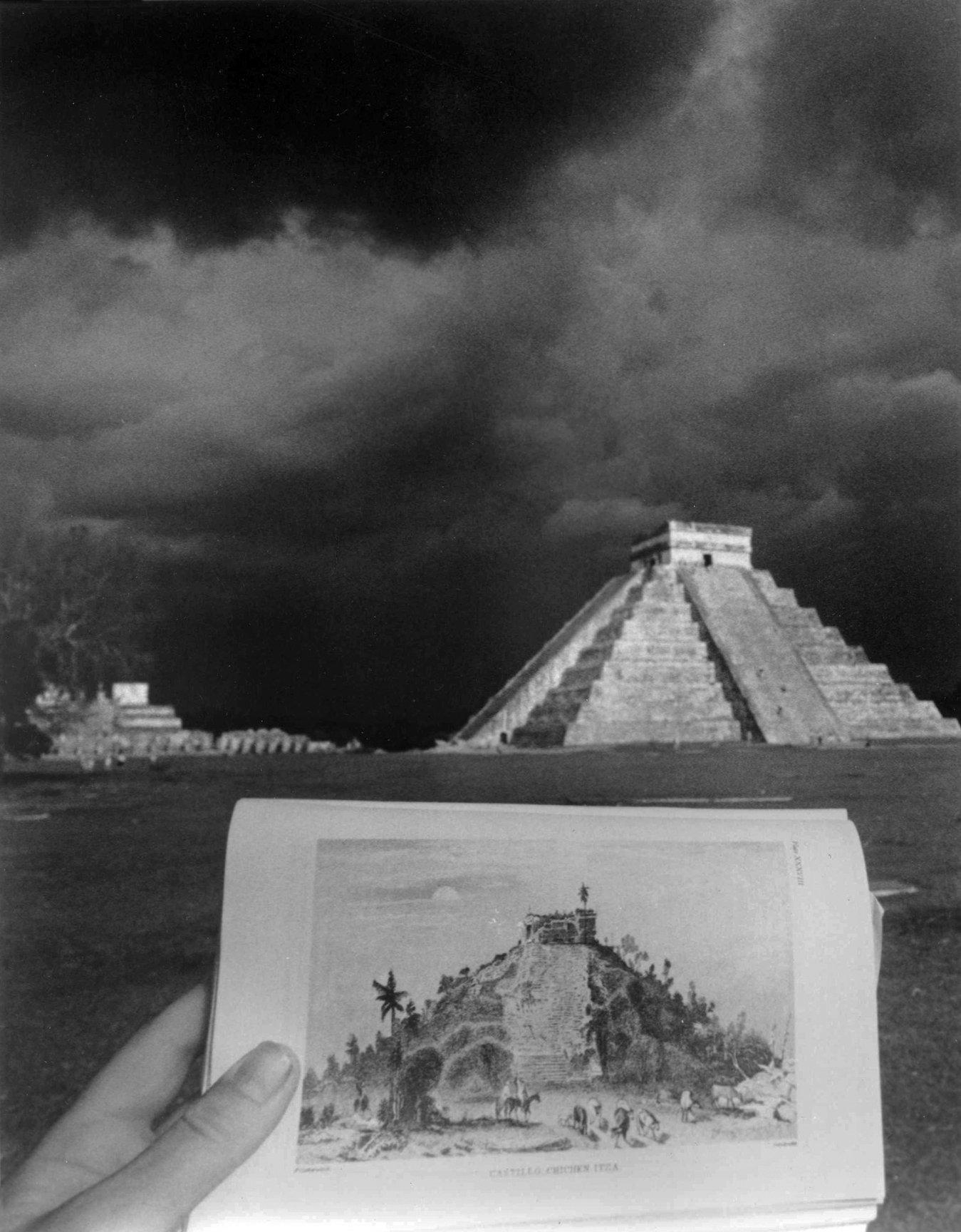 El Castillo, Chichen Itzá after Catherwood (1985) - Leandro Katz