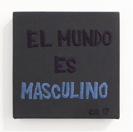 El mundo es masculino (2017) - Carlos Arias Vicuña