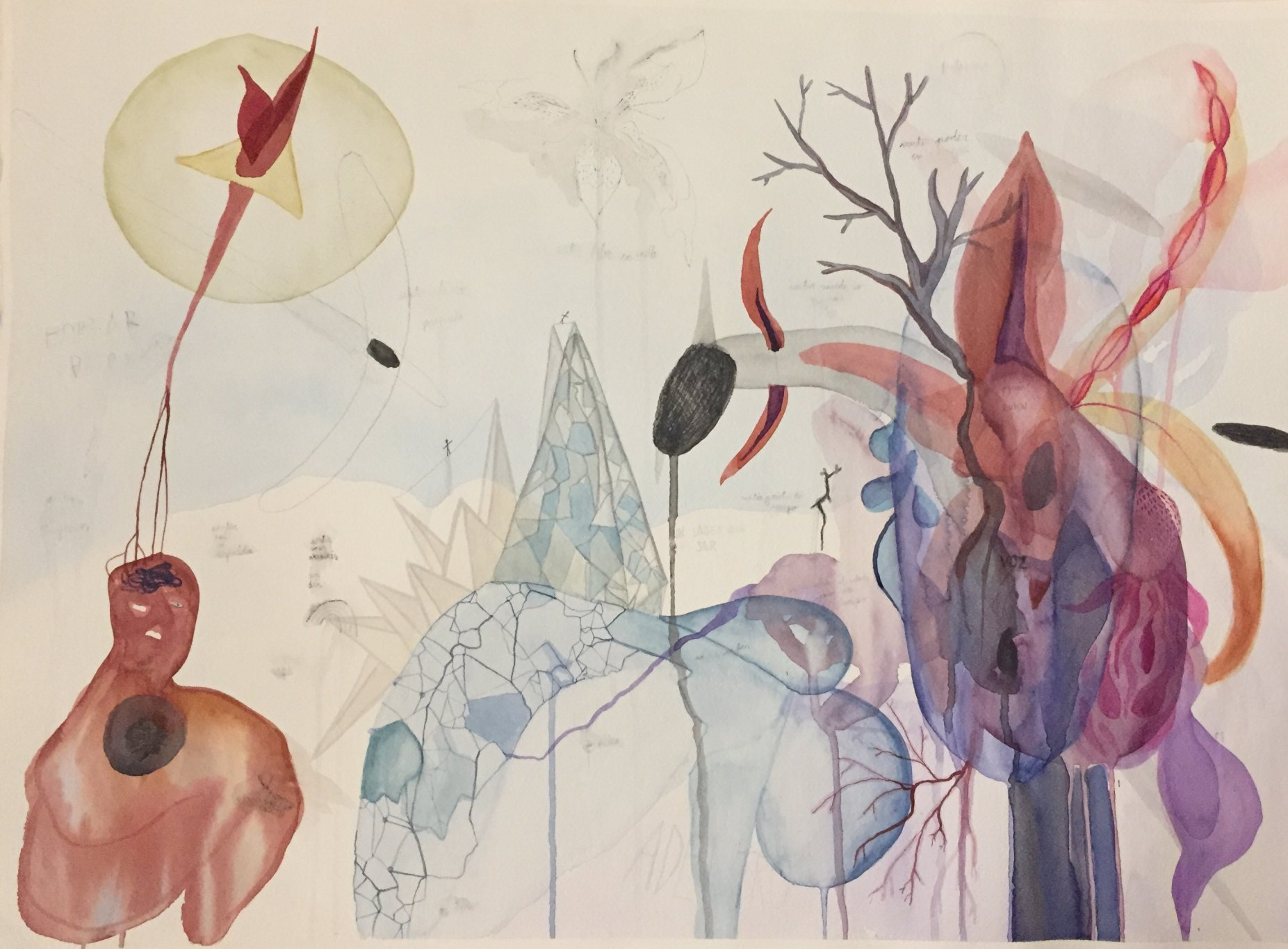 Piel de pensamientos (2016) - María Morales Arango