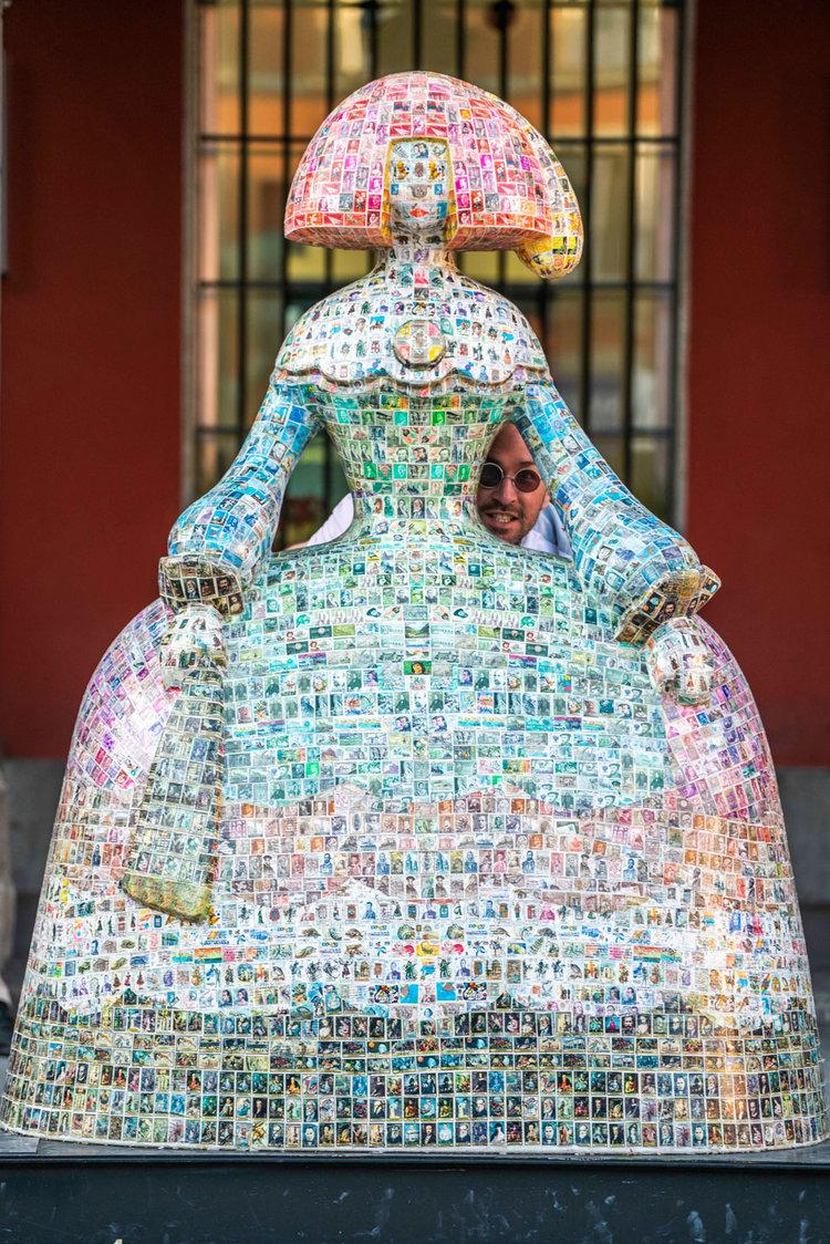 La Menina Postal (2018) - Luigi Cuchillo