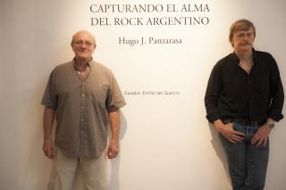 Hugo Panzarasa Autor y Emilio del Guercio Curador