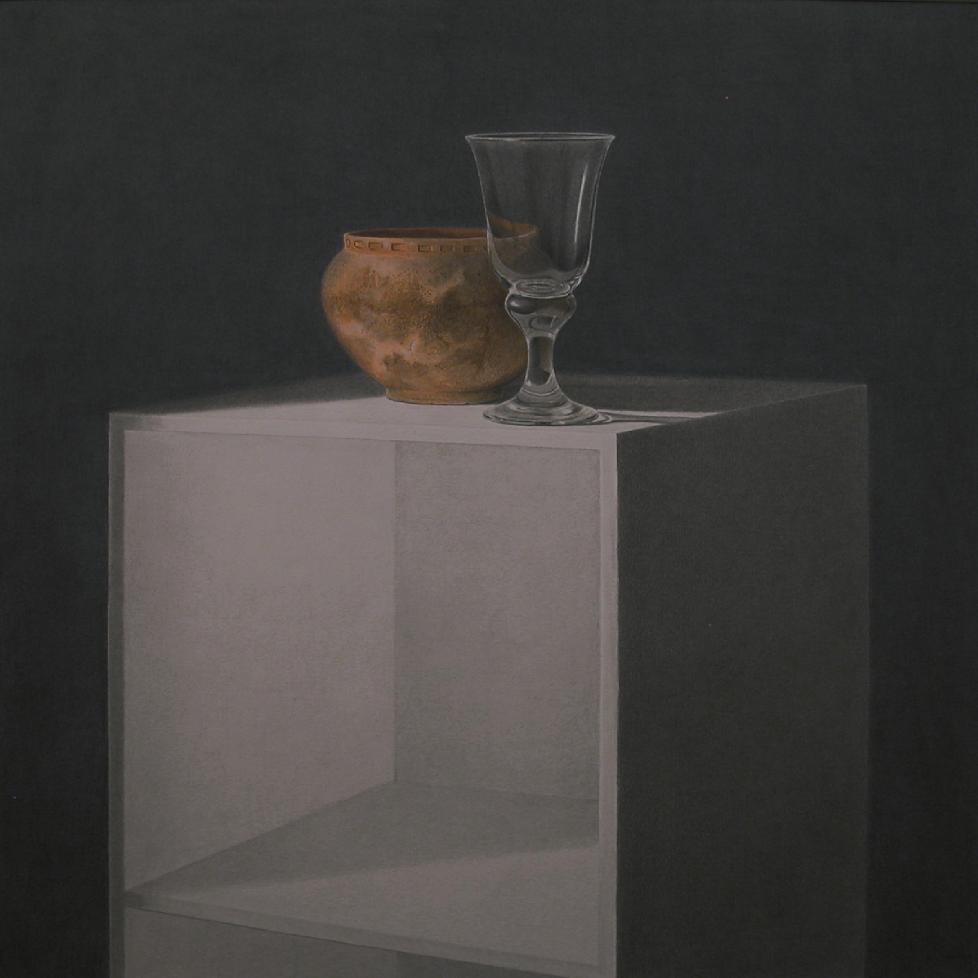 Cerámica y copa (2004) - Angel Luis Muñoz Durán