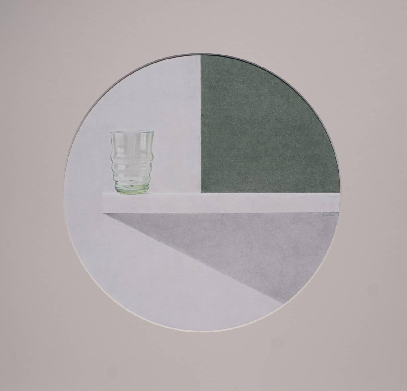 La repisa I. Pequeño vaso verde (2018) - Angel Luis Muñoz Durán