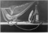 CUARTO DE PLANCHA - grafito sobre papel - 60x90
