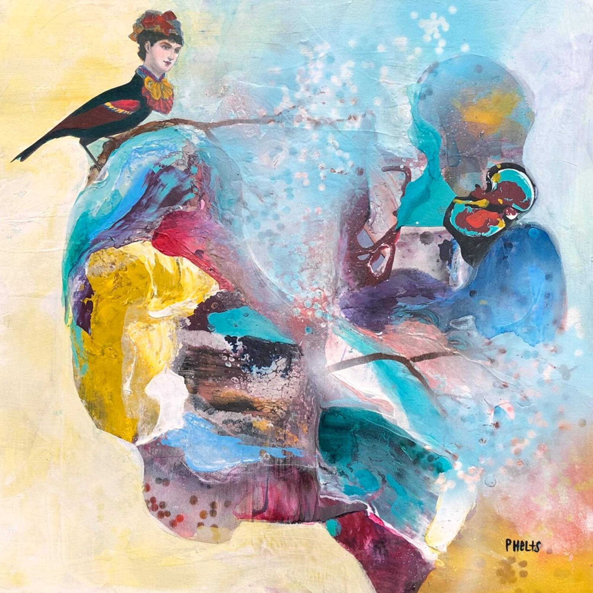 Mujer Pájaro en la Primavera II (2020) - Alejandra Phelts Ramos - Alejandra Phelts