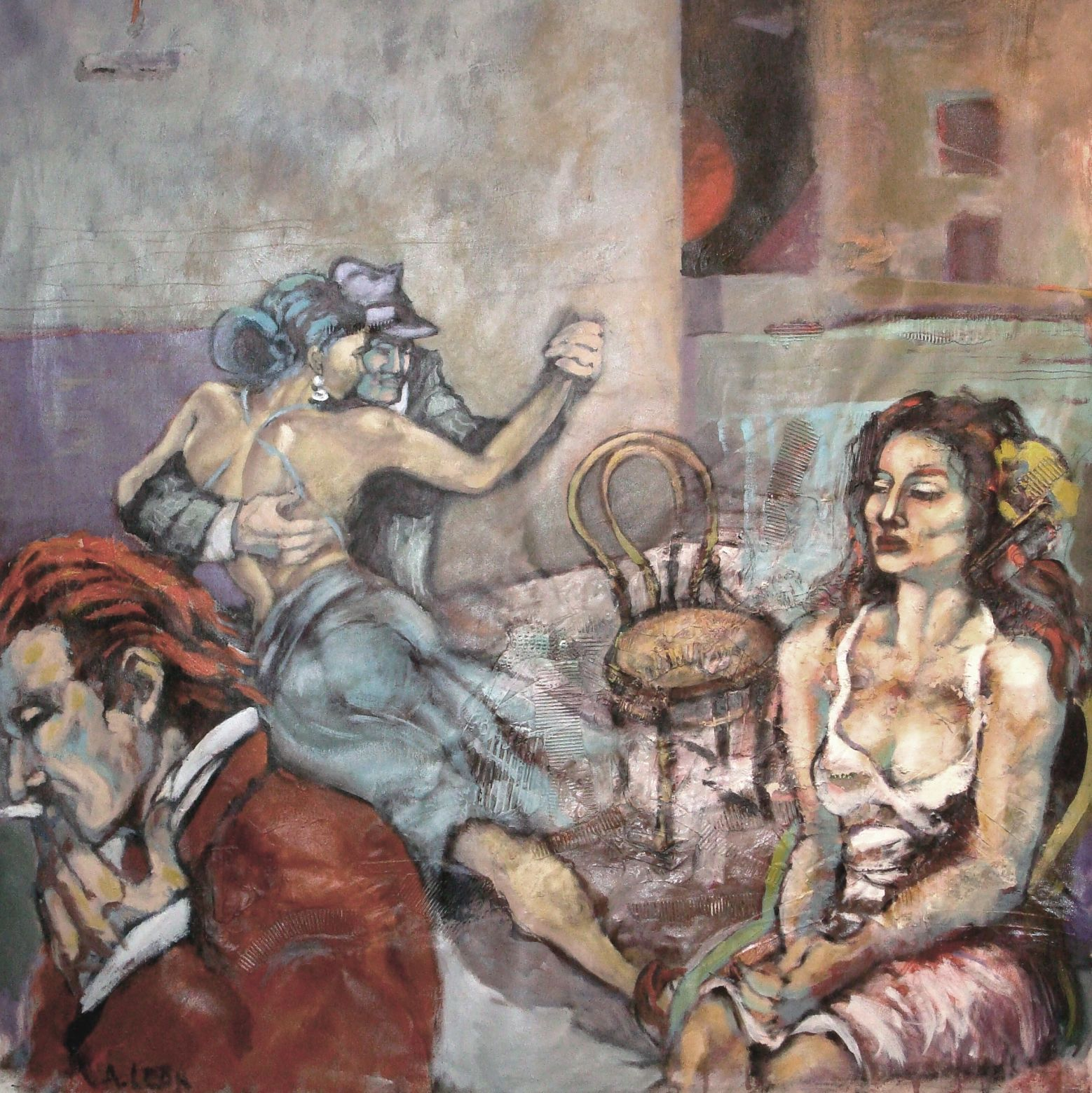 La espera... (2013) - Ana Leon