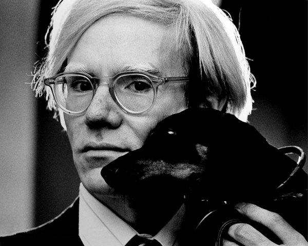 Andy Warhol. Fotografía de Jack Mitchell