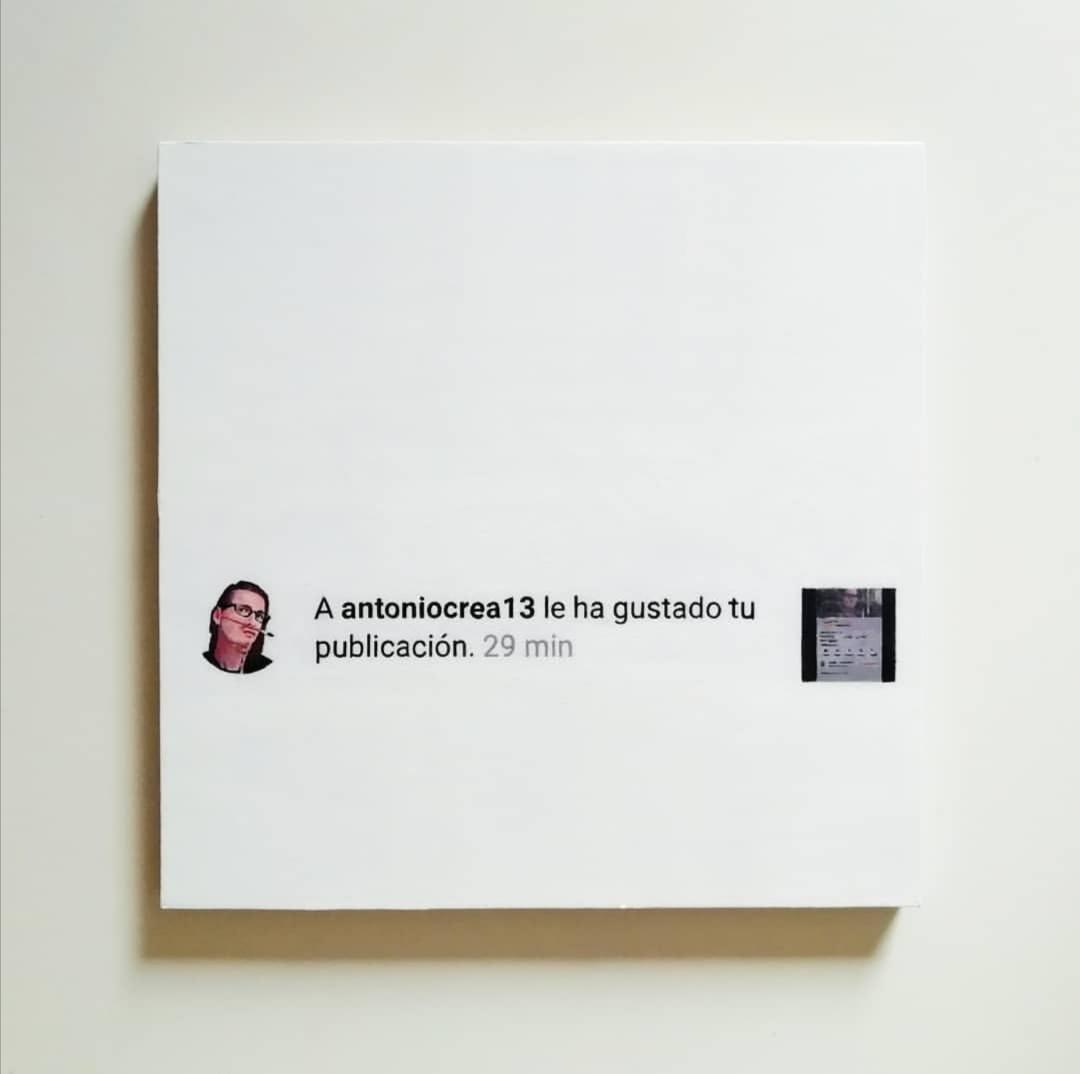 A antoniocrea13 le ha gustado tu publicación (2019) - Marta Ruiz Anguera