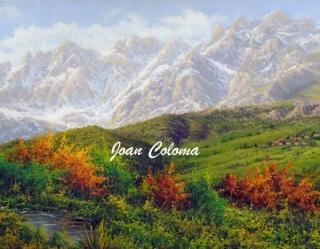 Los Picos de europa desde Baró