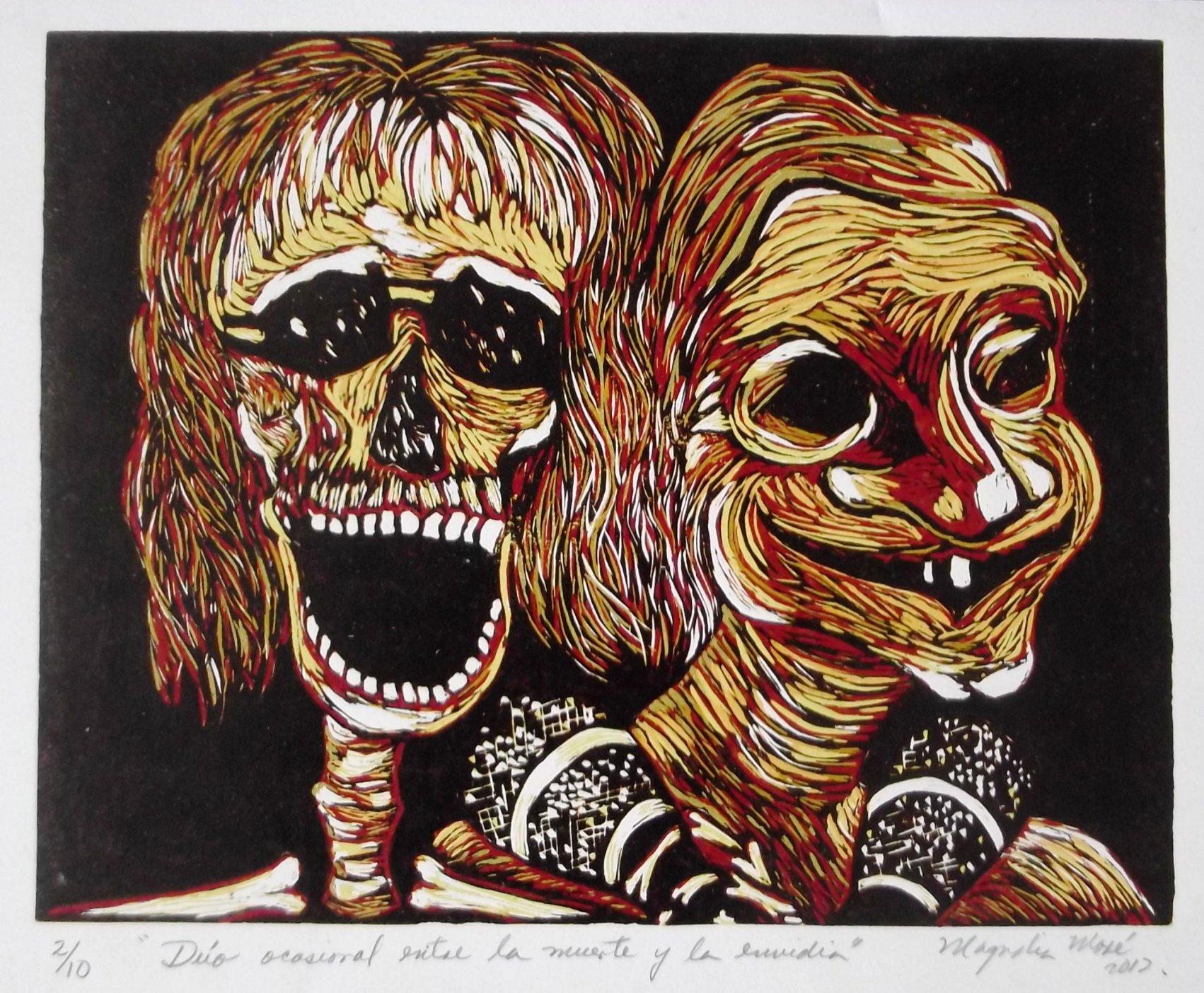 Dúo ocasional entre la muerte y la envidia (2012) - Magnolia Moré Abreu