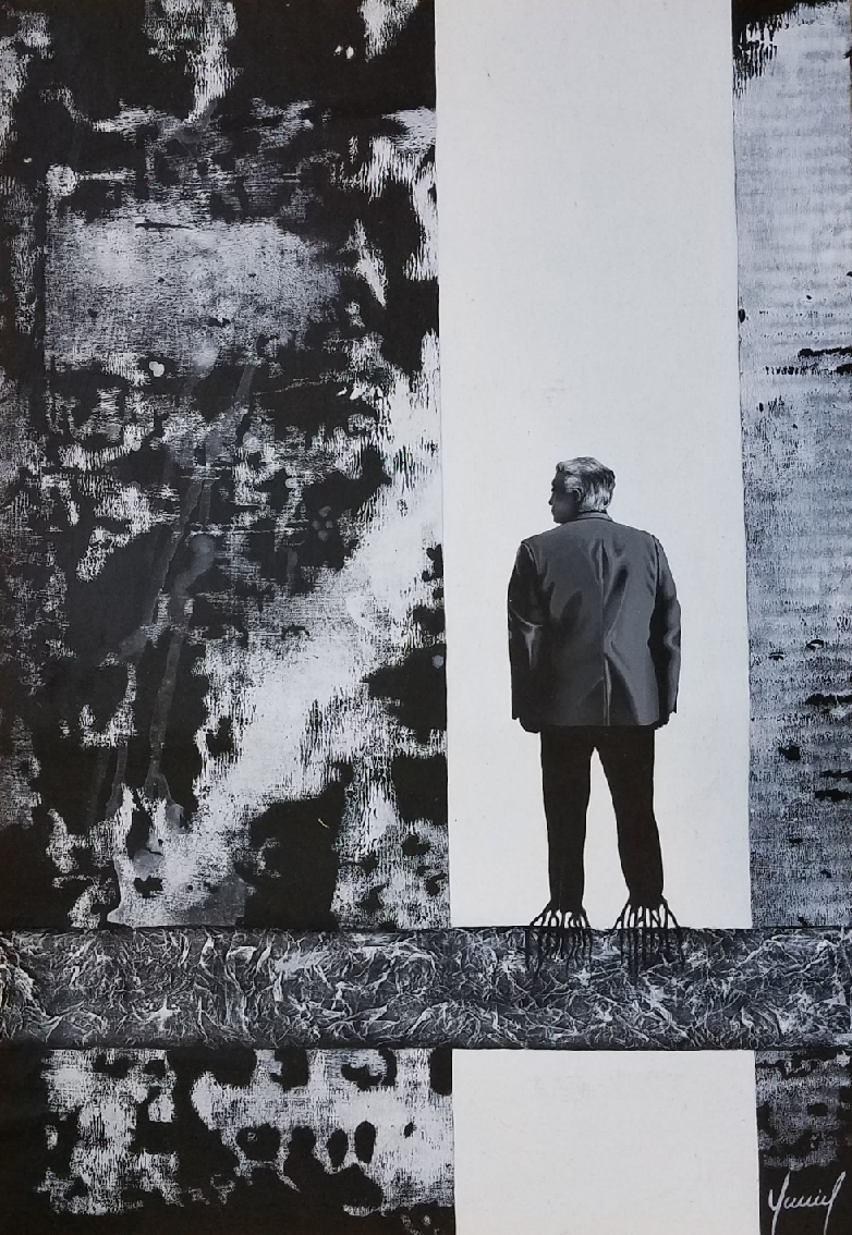 Pensamiento fijo,de la serie materia gris. (2013) - Yanniel Fundora - Fundora